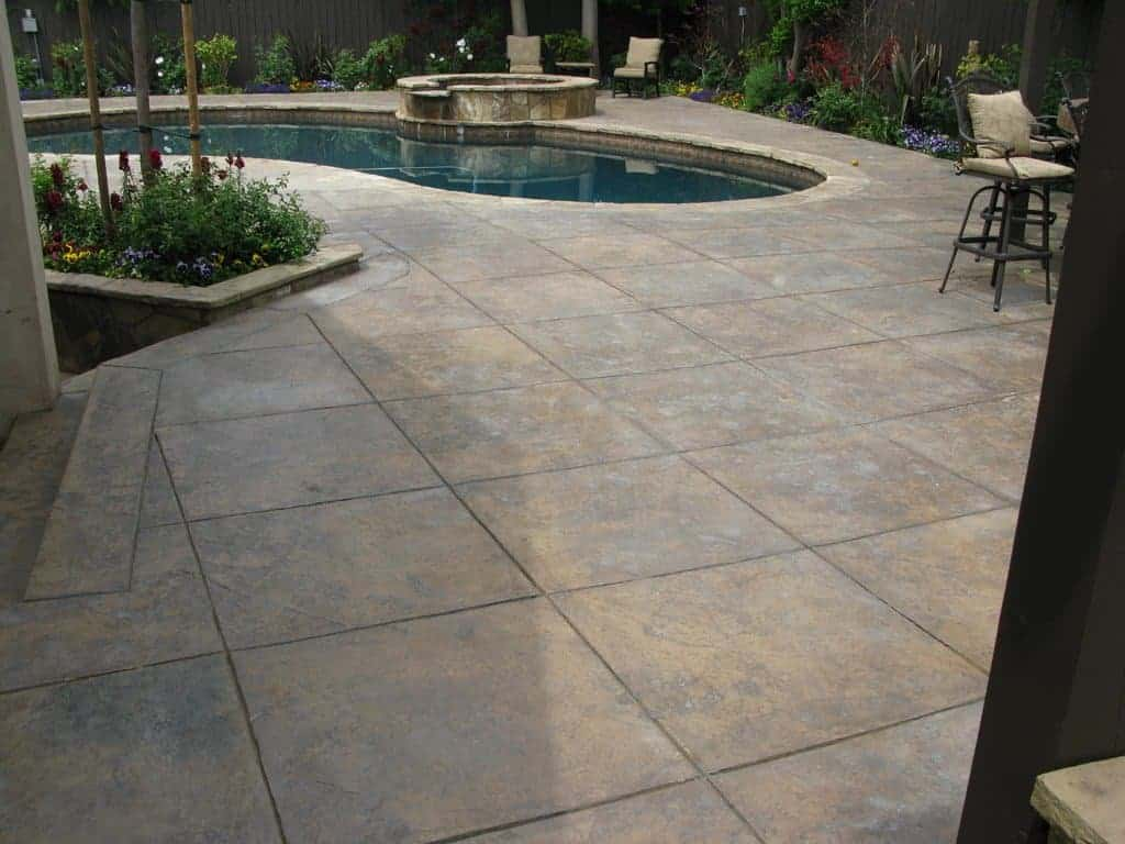 Stamped Concrete Pool Decks Northeast Decorative